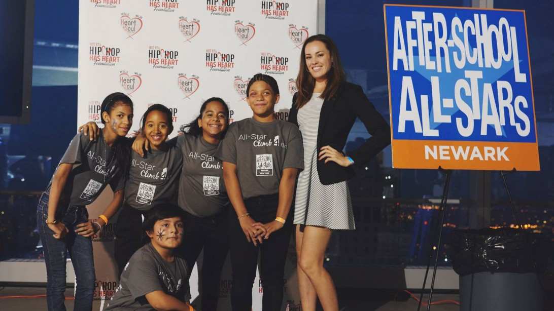 M&F Editors Climb for Kids at After School All Stars Event