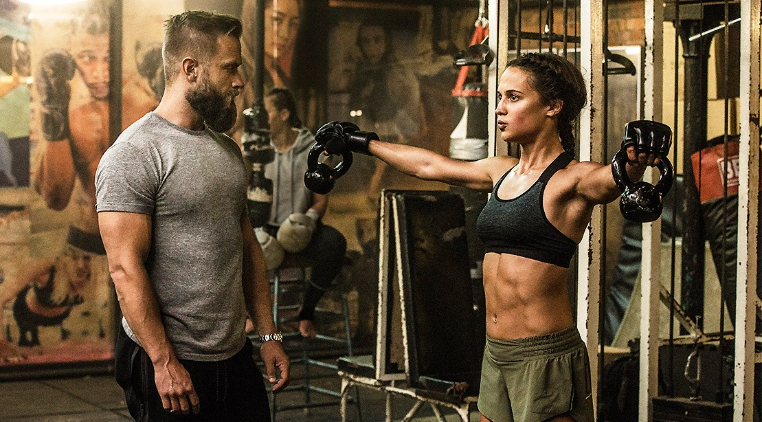 Alicia Vikander's 'Tomb Raider' Workout