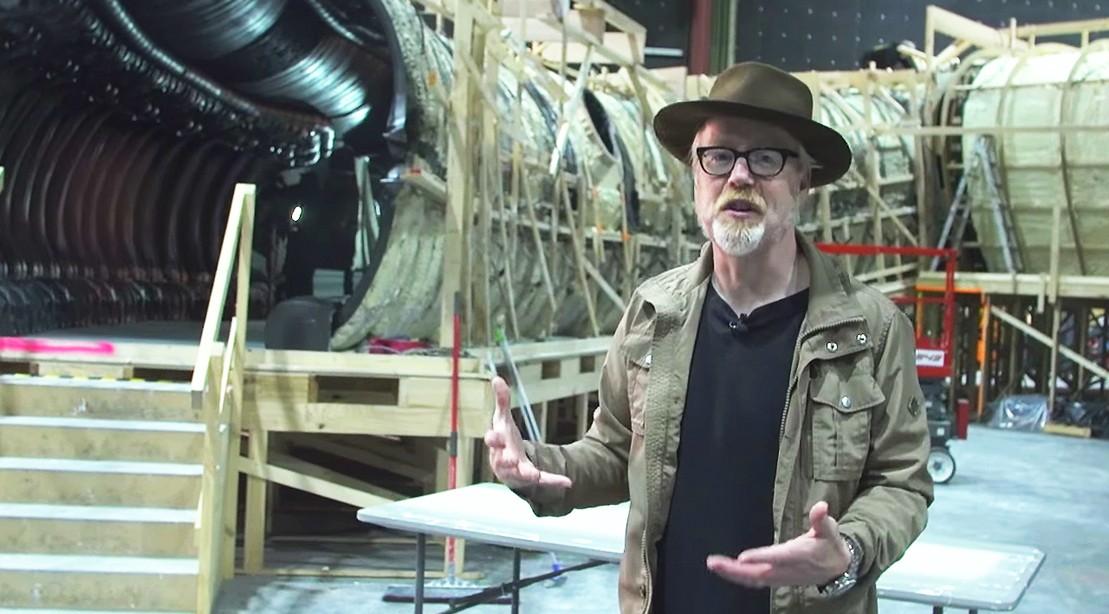 Watch: Adam Savage Goes Behind The Scenes Of 'Alien: Covenant'