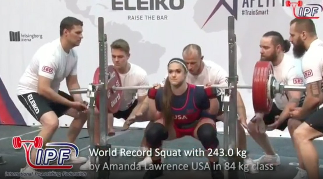 Amanda Lawrence Wins 2019 IPF World Classic Powerlifting Championships