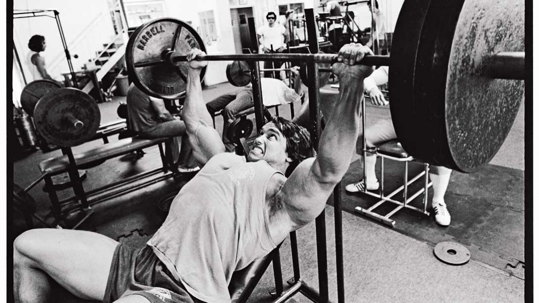Arnold Incline Barbell Bench Press