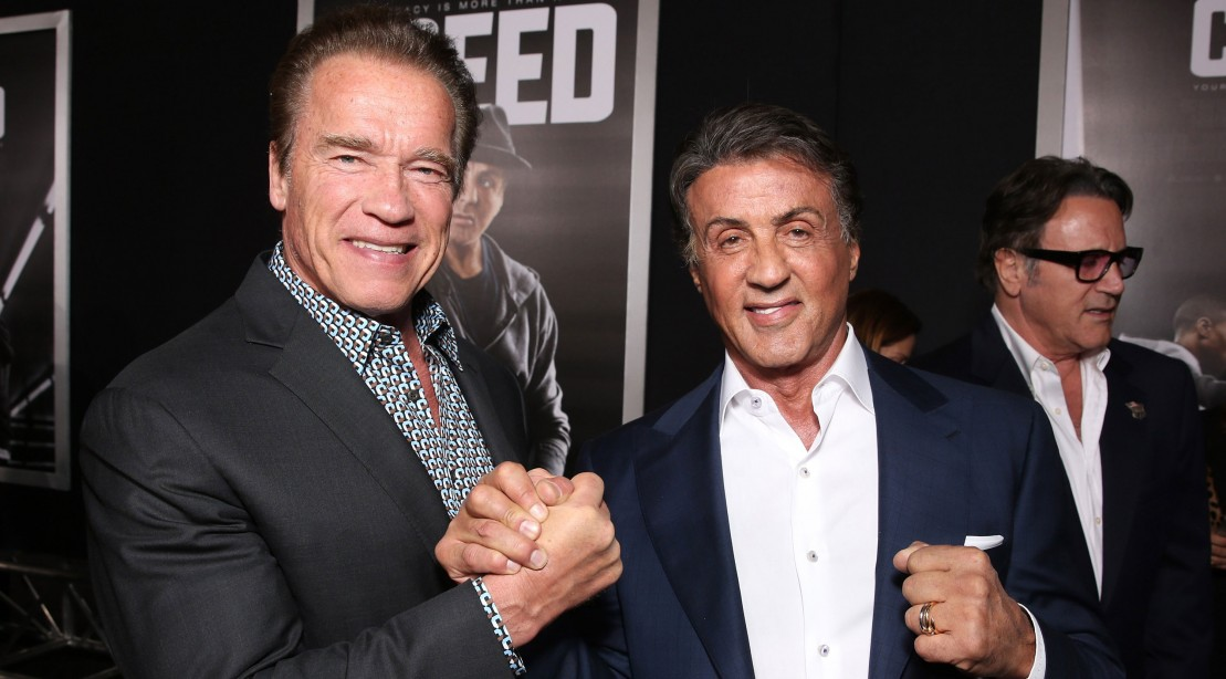Arnold Schwarzenegger Learned to Hula With Sly Stallone