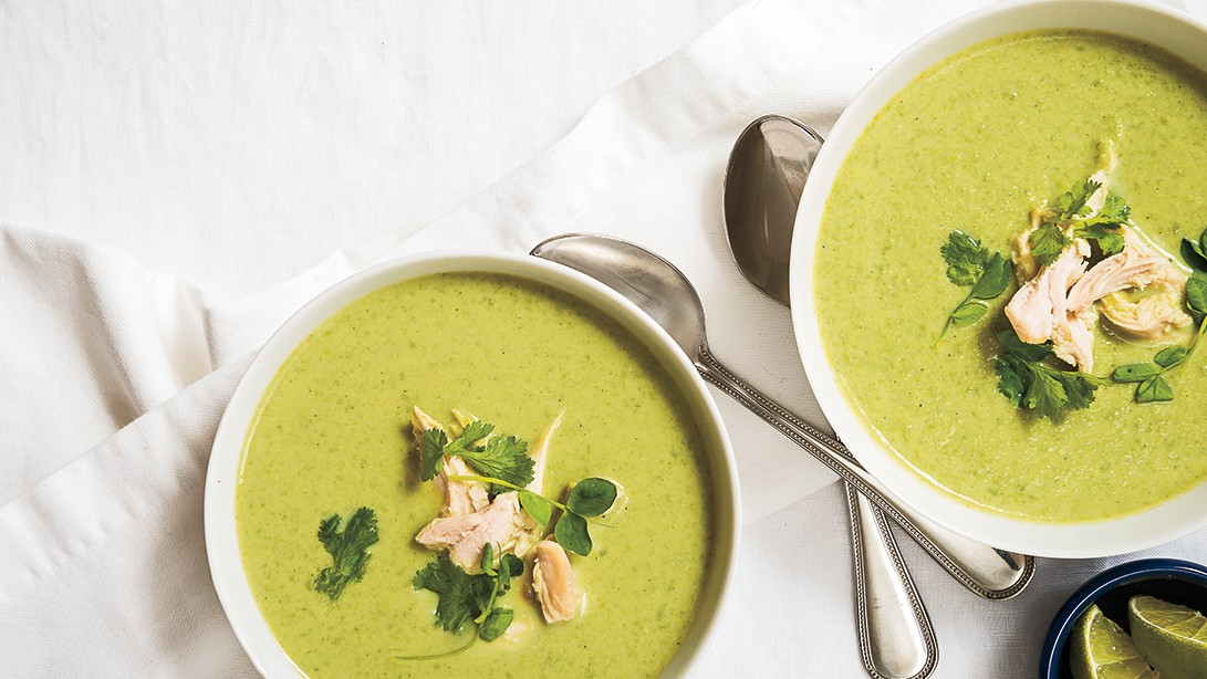 Green Spring Pea Coconut Curry