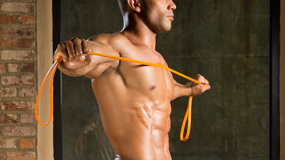 Image result for build muscle with resistance bands
