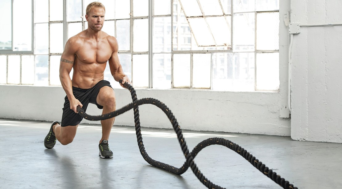 The Battle-Rope Finisher for Muscular Endurance