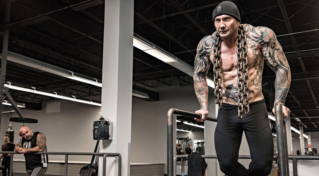 Dave Bautista's Chest Workout
