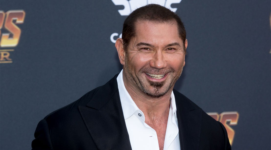 Dave Bautista attends the 'Avengers: Infinity War' World Premiere