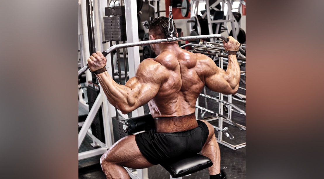 """Lat Pulldown behind the neck """"title ="""" Lat Pulldown behind the neck """"/>    <div class="""