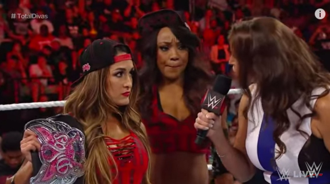 NXT Ladies Appear On WWE Raw