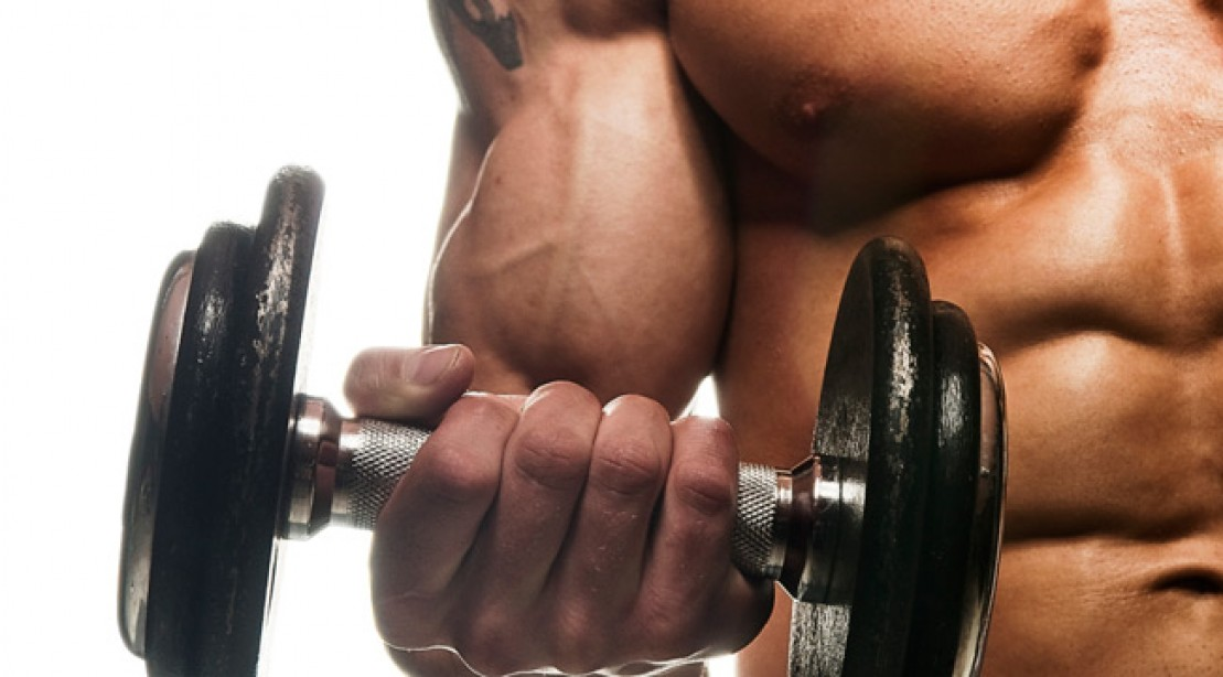 Big Biceps Workout. Exercises 10