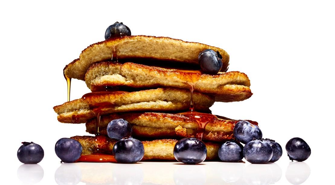 Dairy-Free Blueberry Pancakes
