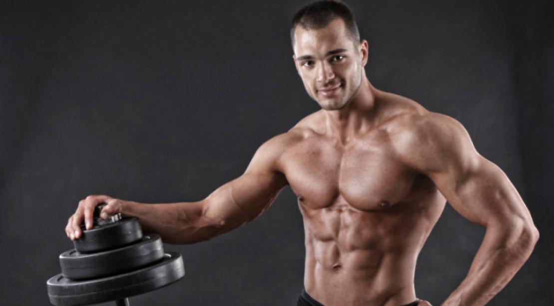 bodybuilder barbell