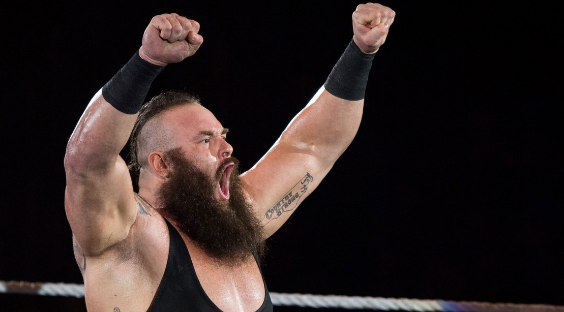 "Braun Strowman's Abs Secret: ""Hard work and clean eating"""
