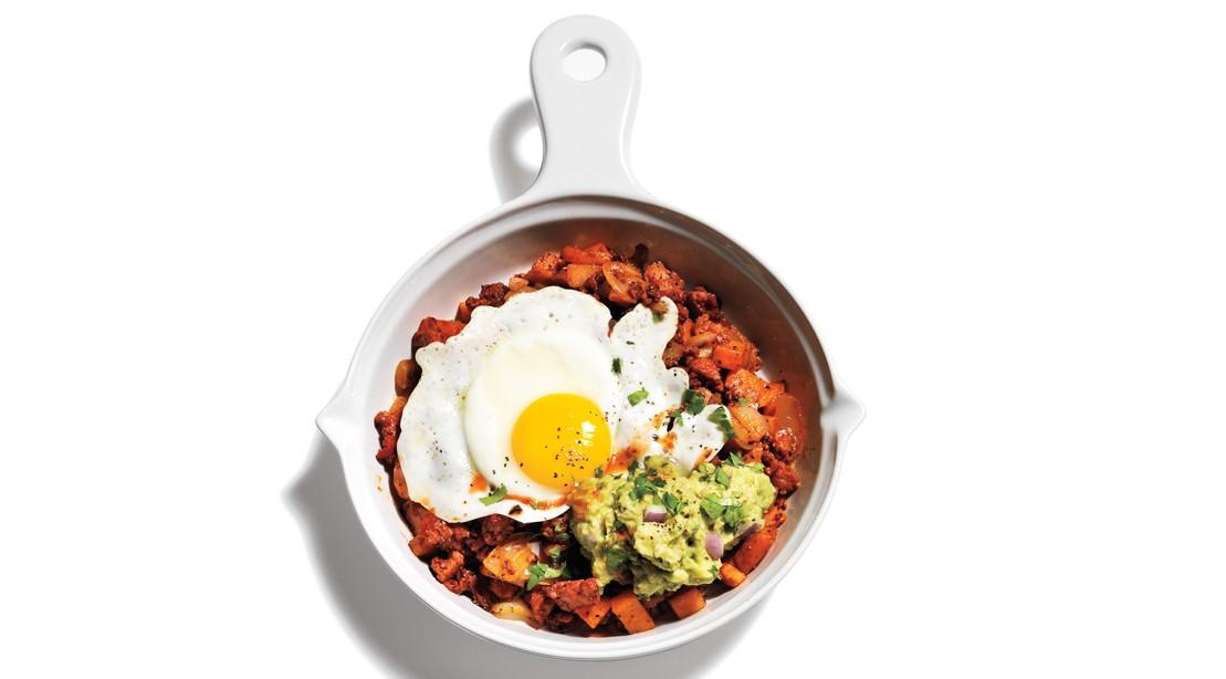 Tex Mex Eggs Breakfast Skillet
