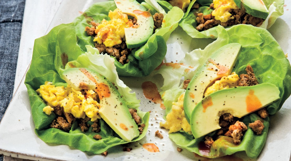 Scrambled Egg Breakfast Taco
