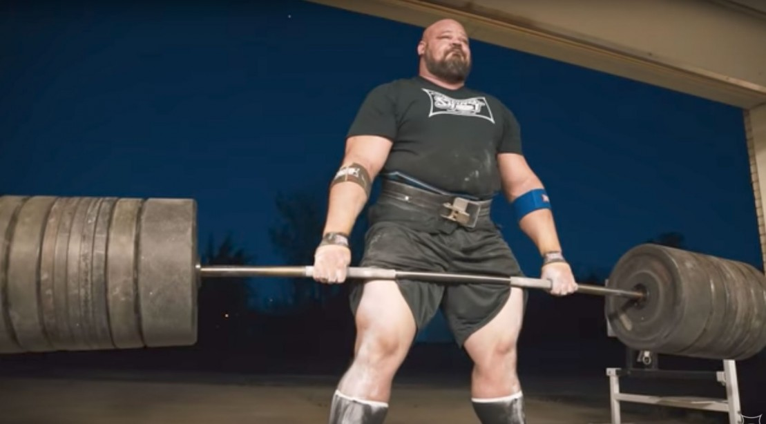 What the World's Strongest Man Eats in a Day