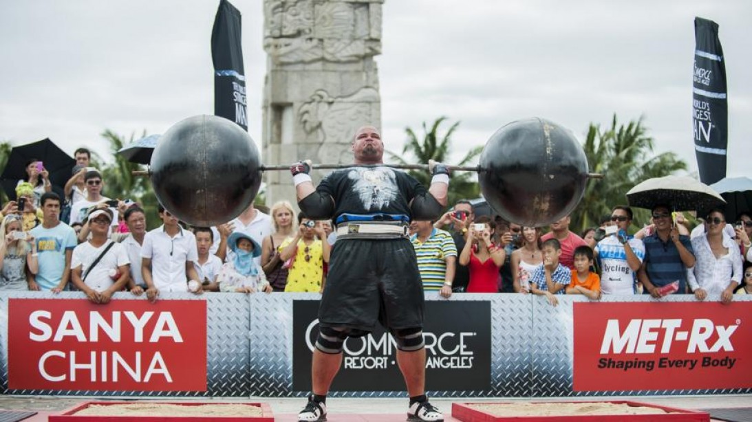 World's Strongest Man Brian Shaw Sets Rowing Record