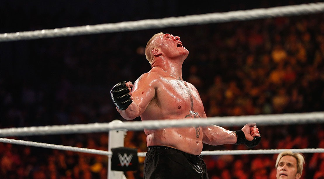 Brock Lesnar At Summerslam