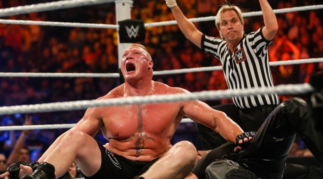 2004 All Over Again as Goldberg is Set to Rematch Brock Lesnar at Wrestlemania