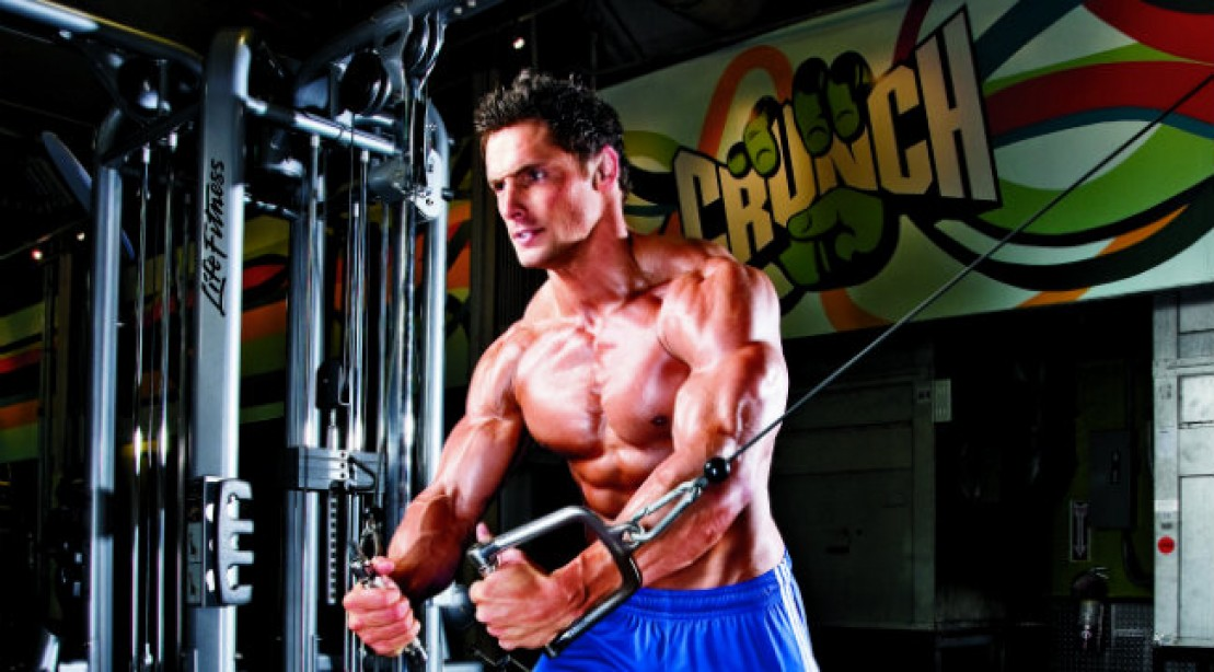 cable flye chest exercise