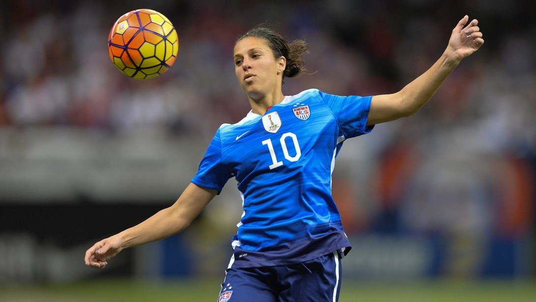 Carli Lloyd Is FIFA Women's Player Of The Year