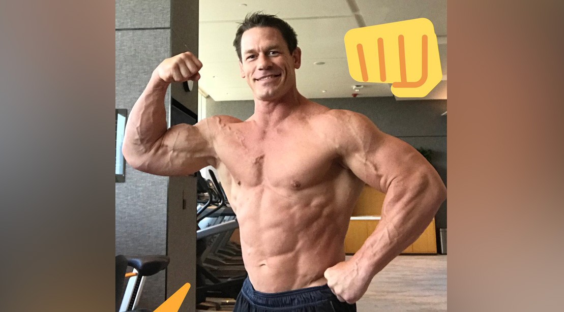 John Cena Is Insanely Ripped Ahead of WWE Live Shanghai | Muscle ...
