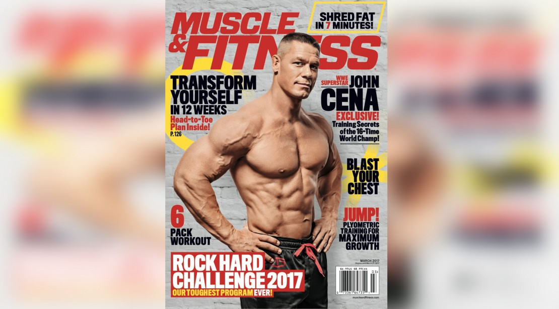 Get the March Issue of 'Muscle & Fitness' on Newsstands Now