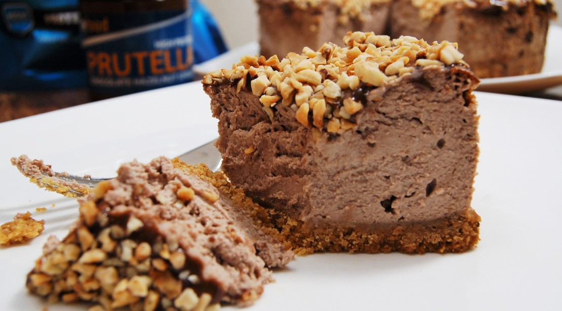 Chocolate-hazelnut Protein Cheesecake