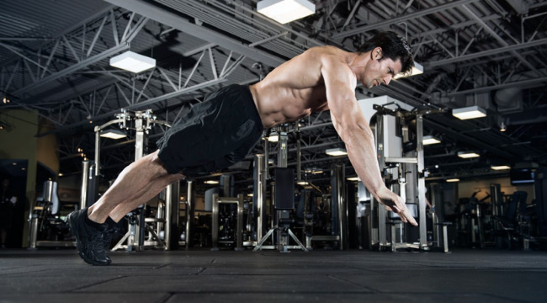 Chest Workout - Plyo Pushup