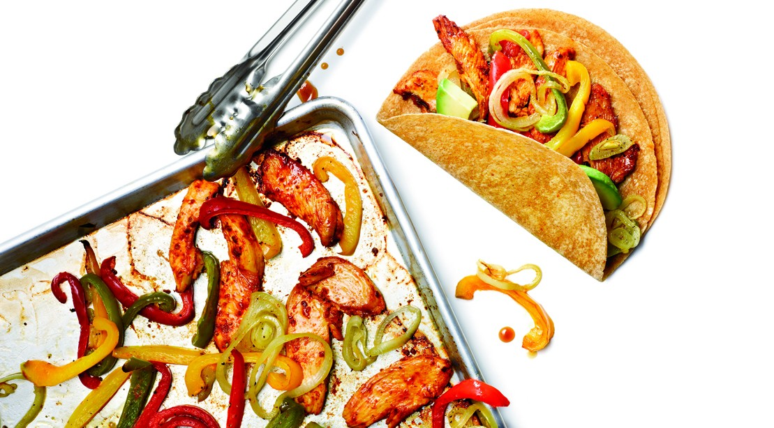 How to make a healthy mexican meal zesty chicken fajitas recipe zesty chicken fajitas forumfinder Images