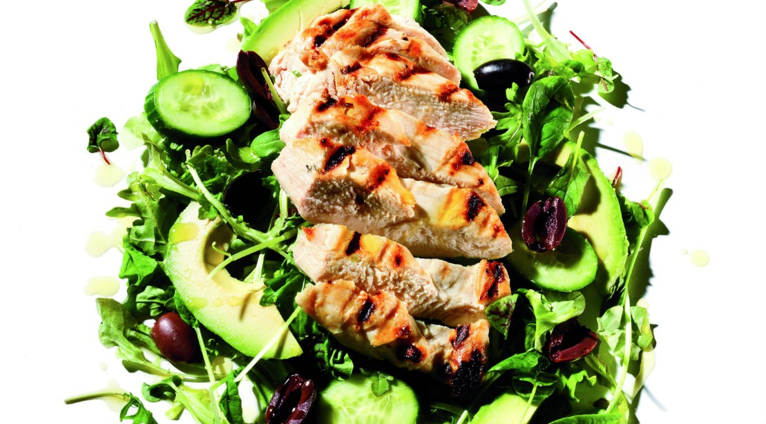 Lemon Grilled Chicken Salad