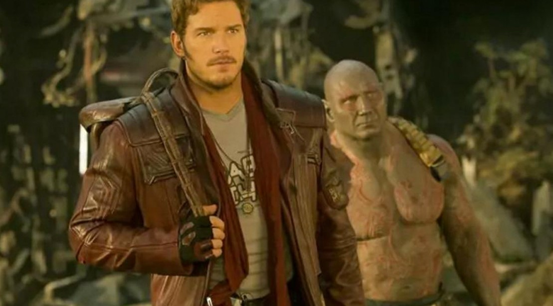 Chris Pratt is Ready For Action in New 'Guardians of the Galaxy Vol. 2' Photos