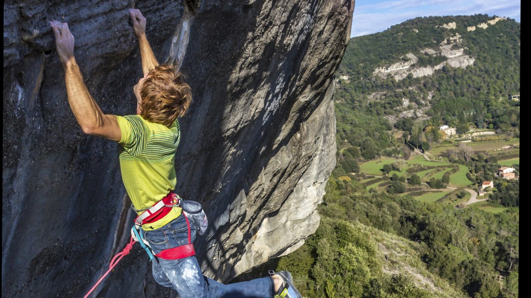 Rock Climber Chris Sharma is on the Hunt for the Next Impossible Route