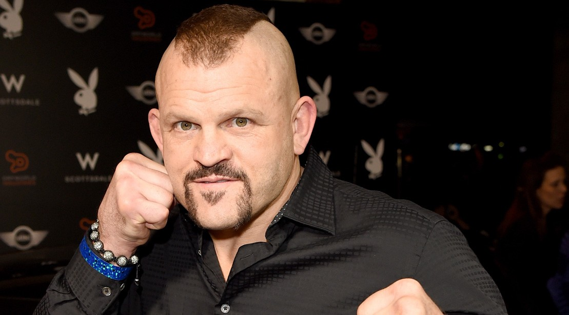 Chuck Liddell Arrives At The Playboy Party