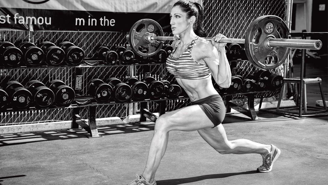 Steal Candice Keene's Shoulder Workout