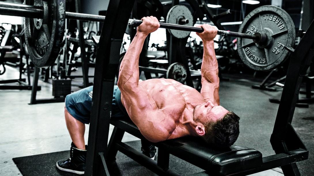 close-grip bench press