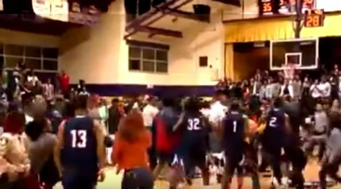 Watch: College Basketball Game Spirals Into Wild, Chair-Slamming Brawl