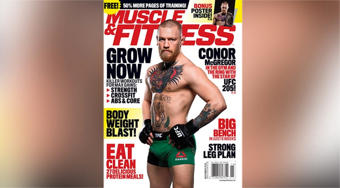 Get the November Issue of 'Muscle & Fitness' on Newsstands Now