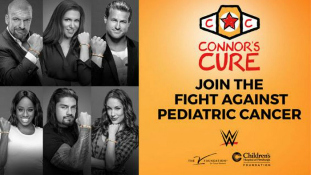 THE V FOUNDATION AND WWE LAUNCH NATIONAL PARTNERSHIP TO FIGHT PEDIATRIC CANCER