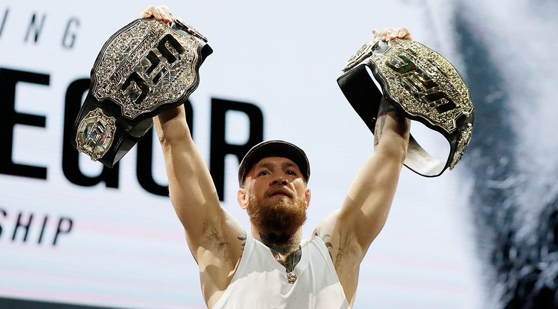"Conor McGregor shockingly announces his retirement ""title ="" Conor McGregor shockingly announces his retirement ""/>    <div class="