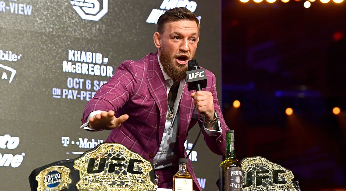 Conor McGregor Challenges Tenshin Nasukawa to an Exhibition Fight