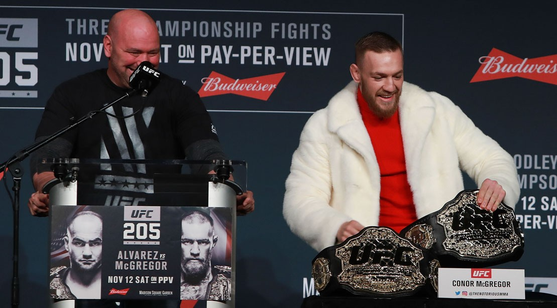 UFC on the Brink of Stripping Conor McGregor of His UFC Belt