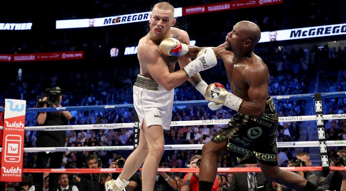 Conor McGregor And Floyd Mayweather Jr.