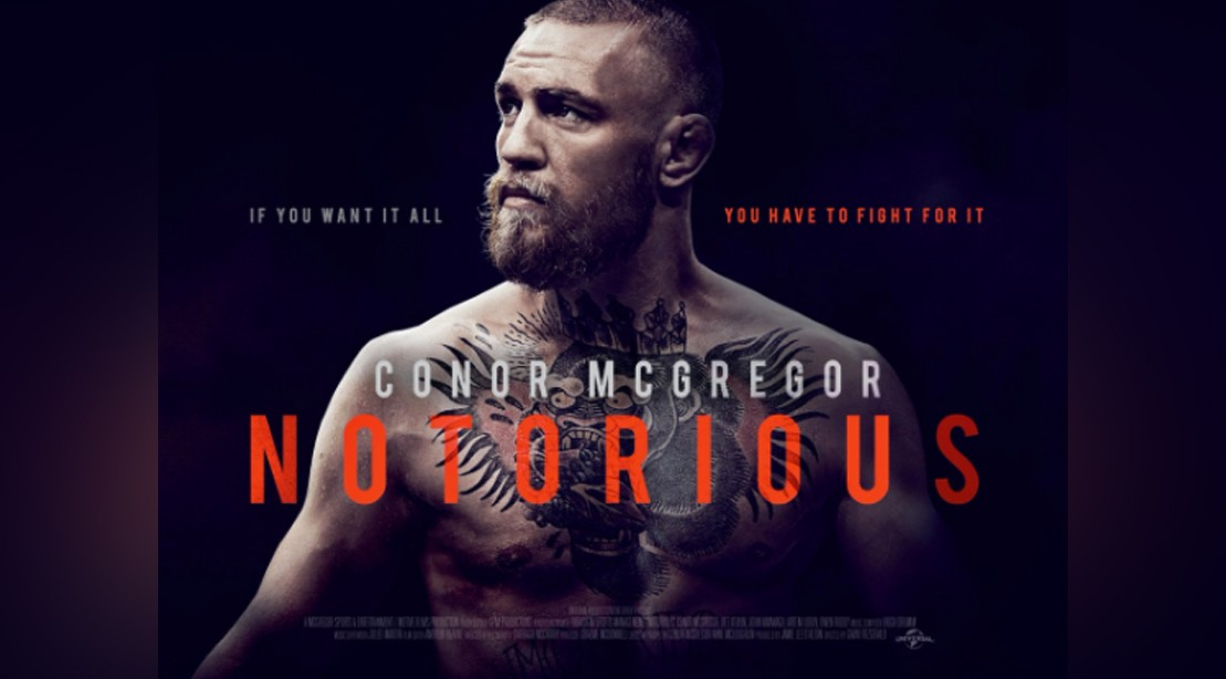 Conor McGregor 'Notorious' Movie Poster