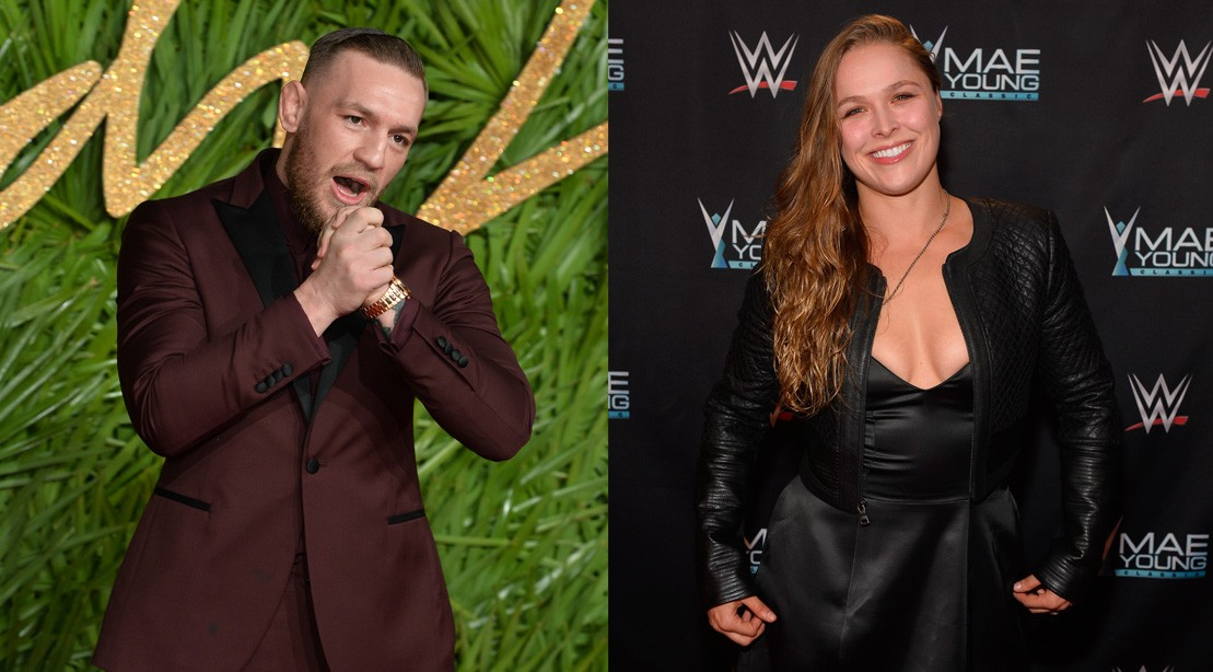 Conor McGregor Supports Ronda's Rousey's Jump to the WWE