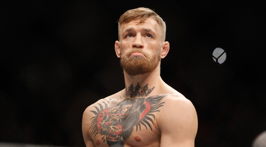 Watch: Enraged Fan Showers Conor Mcgregor with Beer, Allegedly Over Soccer Team