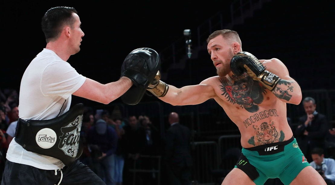 UFC Featherweight Champion Conor McGregor Boxing