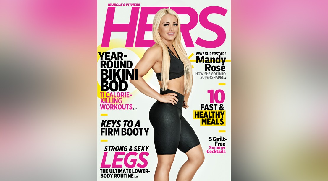Get the Summer 2019 Issue of 'Muscle & Fitness Hers'