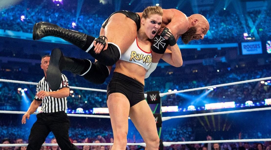 Wrestling Man Vs Woman Wwe