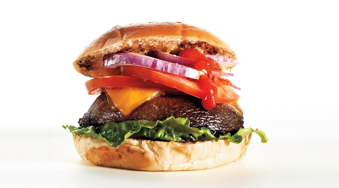 The Vegetarian Burger to Kill Your Cravings